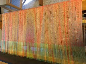 Detail of Summer Sunset on the Loom