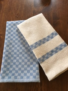 Woven Cotton Kitchen Towels