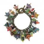 wearing wonderland bracelet- JH