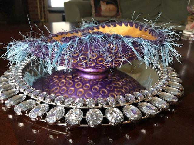 textured bowl