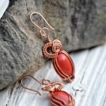 Coral Dream Earrings