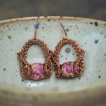 Royal Purple Earrings